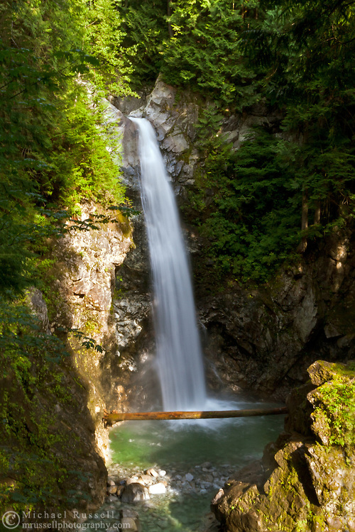 Cascade Falls in Cascade Falls Regional Park - Mission, British Columbia, Canada