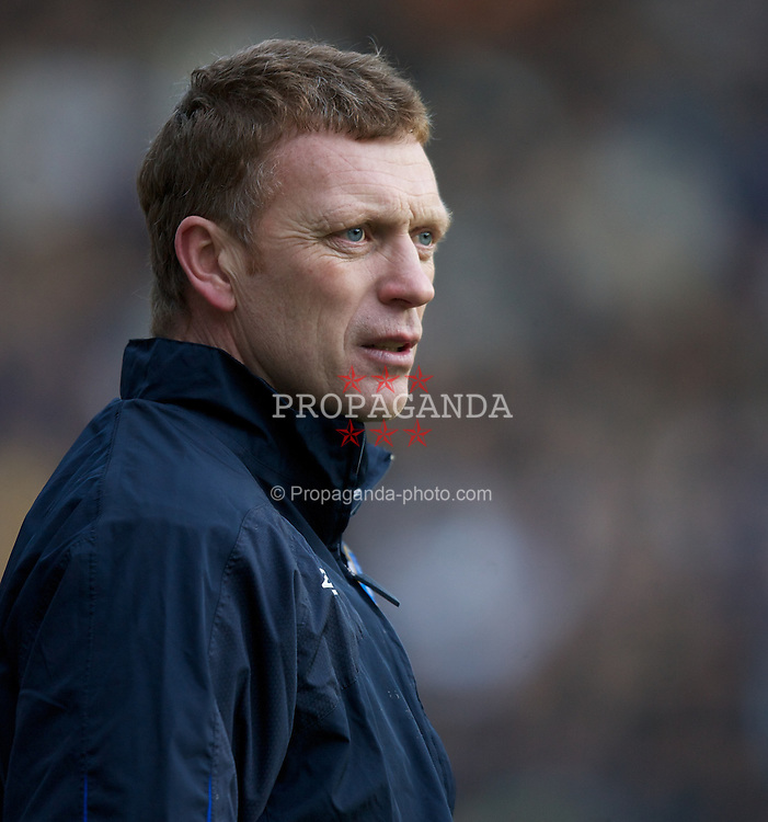 Wigan, England - Sunday, January 21, 2007: Everton's manager David Moyes during the Premier League match against Wigan Athletic at the JJB Stadium. (Pic by David Rawcliffe/Propaganda)