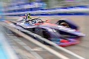 Sam Bird during Qualifying session ahead of the Julius Bär Formula E race in the swiss capital Bern.