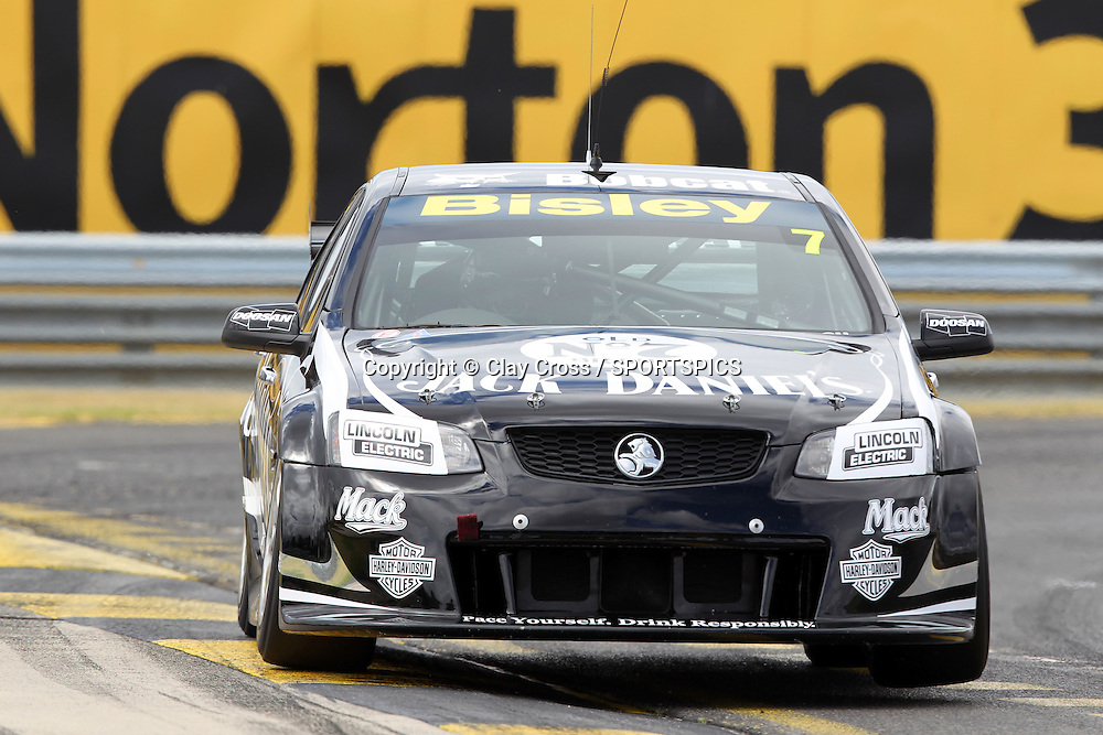Todd Kelly (Jack Daniel's Racing Holden). 2012 V8 Supercar Championship Series Test Day. Sandown International Raceway, Melbourne Victoria on Saturday 11 February 2012. Photo : Clay Cross / photosport.co.nz