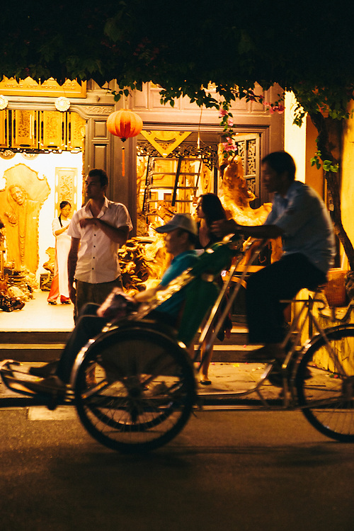 Cyclo in Hoi An, Vietnam