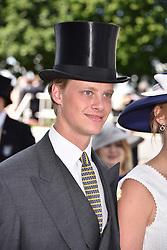 Oliver Sangster at The Investec Derby, Epsom Racecourse, Epsom, Surrey, England. 02 June 2018.
