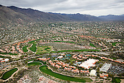 An affluent community in southern Arizona, Catalina Hills was built on desert up to the mountains.