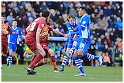 Joe Bunney Scores during the Sky Bet League 1 match between Bradford City and Rochdale at the Coral Windows Stadium, Bradford, England on 20 February 2016. Photo by Daniel Youngs.