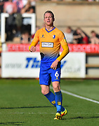 Neal Bishop (6) of Mansfield Town during the EFL Sky Bet League 2 match between Exeter City and Mansfield Town at St James' Park, Exeter, England on 30 March 2019.