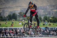 25-29 Men #324 (ERNSTSONS Kaspars) LAT at the 2018 UCI BMX World Championships in Baku, Azerbaijan.