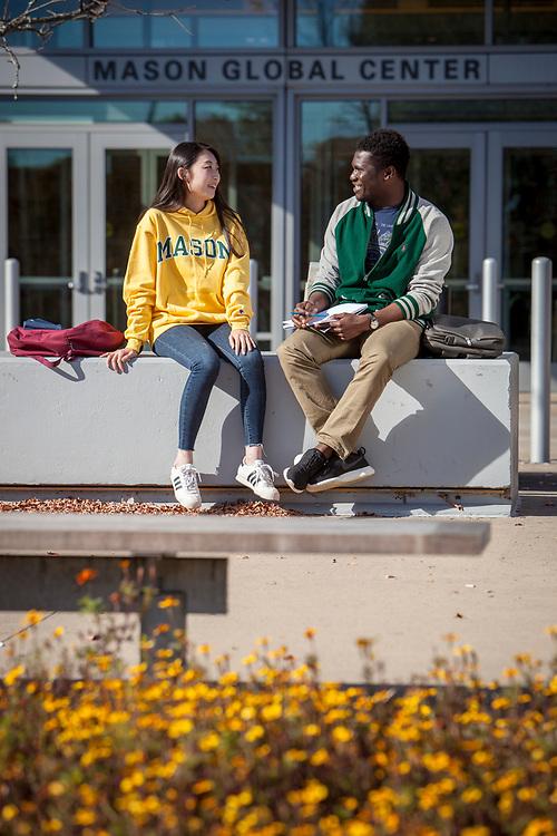 George Mason University Fairfax, VA Campus. For INTO Partnerships and GMU