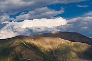 Peaks in the Sawatch Range as seen From Independence Pass, Colorado.