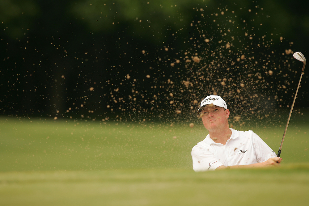 Chad Campbell..2004 Colonial Invitational.Fourth Round.Colnial Country Club.Fort Worth, Texas.Sunday, May 23 2004.photograph by Darren Carroll