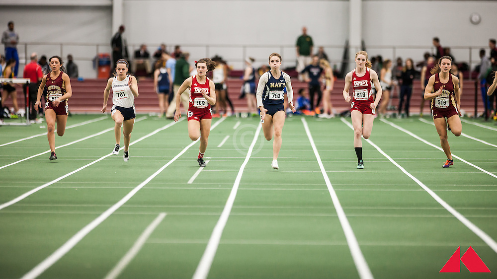 Boston University Scarlet and White Indoor Track & Field: WPI, Navy,