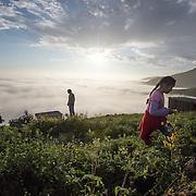 La nebbia, a causa della differenza di temperatura tra l'aria fredda proveniente dal mare e la terra desertica dell'interno, da queste parti è presente molte ore al giorno.