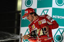 24.10.2010, Korea International Circuit, Yeongam, KOR, F1 Grandprix of Korea, im Bild  .Fernando Alonso (ESP),  Scuderia Ferrari., EXPA Pictures © 2010, PhotoCredit: EXPA / InsideFoto / Hasan Bratic ***ATTENTION FOR AUSTRIA AND SLOVENIA USE ONLY***