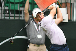 May 3, 2019 - Charlotte, NC, U.S. - CHARLOTTE, NC - MAY 03: Rory Mcllroy plays his shot from the tenth tee in round two tied for the lead in of the Wells Fargo Championship on March 03, 2019 at Quail Hollow Club in Charlotte,NC. (Photo by Dannie Walls/Icon Sportswire) (Credit Image: © Dannie Walls/Icon SMI via ZUMA Press)