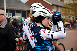 Letizia Paternoster (ITA) after Healthy Ageing Tour 2019 - Stage 5, a 124.3 km road race in Midwolda, Netherlands on April 14, 2019. Photo by Sean Robinson/velofocus.com