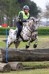 Van de Ven Apolonia, BEL, Tucker<br /> Nationale LRV-Eventingkampioenschap Ponies Minderhout 2017<br /> © Hippo Foto - Kris Van Steen<br /> 29/04/17