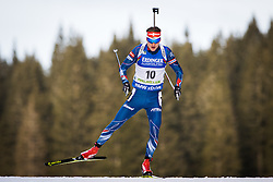 Onrej Moravec (CZE) during Men 10 km Sprint of the IBU Biathlon World Cup Pokljuka on Thursday, December 16, 2015 in Pokljuka, Slovenia. Photo by Ziga Zupan / Sportida