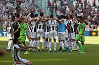 21.05.2017 - Torino - Serie A 2016/17 - 37a giornata  -  Juventus-Crotone nella  foto: I giocatori della Juventus esultano a fine partita