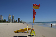 "Whether the name refers to the fine sand on its beaches or the money pouring in from commercialization, Brisbane's famed Gold Coast has become Australia's biggest tourist development. Every summer, throngs of just-graduated high school students invade Surfers Paradise, as this beach 30 miles southeast of the city is known. Their arrival kicks off what is sardonically called ""schoolies week."" (Supporting image from the project Hungry Planet: What the World Eats.)"