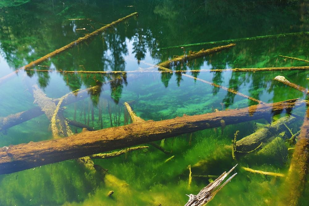 Kitch-iti-kipi Spring<br /> Michigan's Upper Peninsula