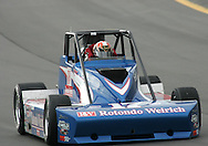 05 MAY 2007: Mat Neely (17) of RW Motorsports drives around turn one in the Silver Crown race at the Casey's General Stores USAC Triple Crown at the Iowa Speedway in Newton, Iowa on May 5, 2007.