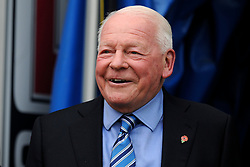 Former Wigan Atheltic chairman Dave Whelan  - Mandatory by-line: Greig Bertram/JMP - 28/04/2018 - FOOTBALL - DW Stadium - Wigan, England - Wigan Athletic v AFC Wimbledon -