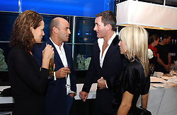 Left to right, GUY & ANDREA DELLAL and TIM JEFFERIES and PRINCESS ALEXANDRA VON FURSTENBURG at a dinner hosted by Cartier to celebrate the opening of the 2004 Frieze Art Fair, held at Yauacha 15-17 Broadwick Street, London W1 on 13th October 2004.<br />