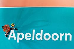 21-09-2019 NED: EC Volleyball 2019 Netherlands - Germany, Apeldoorn<br /> 1/8 final EC Volleyball / Gijs Jorna #7 of Netherlands, centercourt Apeldoorn