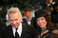 Jean-Paul Gaultier at the Cosmopolis gala screening at the 65th Cannes Film Festival France. Cosmopolis is directed by David Cronenberg and based on the book by writer Don Dellilo.  Friday 25th May 2012 in Cannes Film Festival, France.