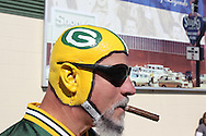 GREEN BAY, WI - OCTOBER 17: A fan of the Green Bay Packers at the game against the Miami Dolphins at Lambeau Field on October 17, 2010 in Green Bay, Wisconsin. The Dolphins defeated the Packers 23-20 in overtime. (Photo by Tom Hauck/Getty Images) *** Local Caption ***