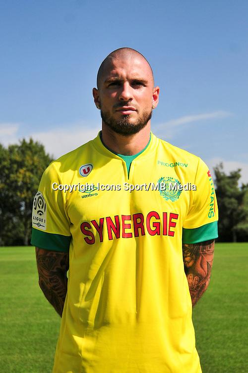 Vincent BESSAT - 15.09.2014 - Photo officielle Nantes - Ligue 1 2014/2015<br /> Photo : Philippe Le Brech / Icon Sport