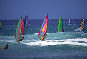 Windsurfers, Hawaii<br />