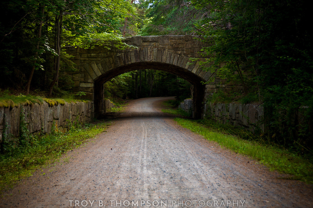 Jordan Pond Road Bridge.Carriage Road 38/30