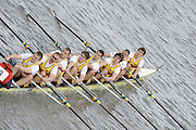 Chiswick, London, GREAT BRITAIN,  Czech Rowing Federation, starting the the race, looking from Chiswick Bridge. 2011 Head of the River Race. Mortlake to Putney,  Championship Course River Thames on Saturday  02/04/2011  [Mandatory Credit, Peter Spurrier/Intersport-images]