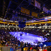 A general view of the TD Garden prior to the opening ceremonies to the championship ladies short program at the 2014 US Figure Skating Championships at TD Garden in Boston, MA, on January 9, 2014.