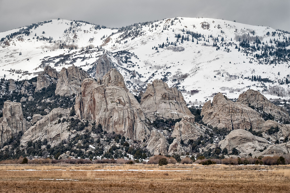 City of Rocks Photo Safari Winter 2017