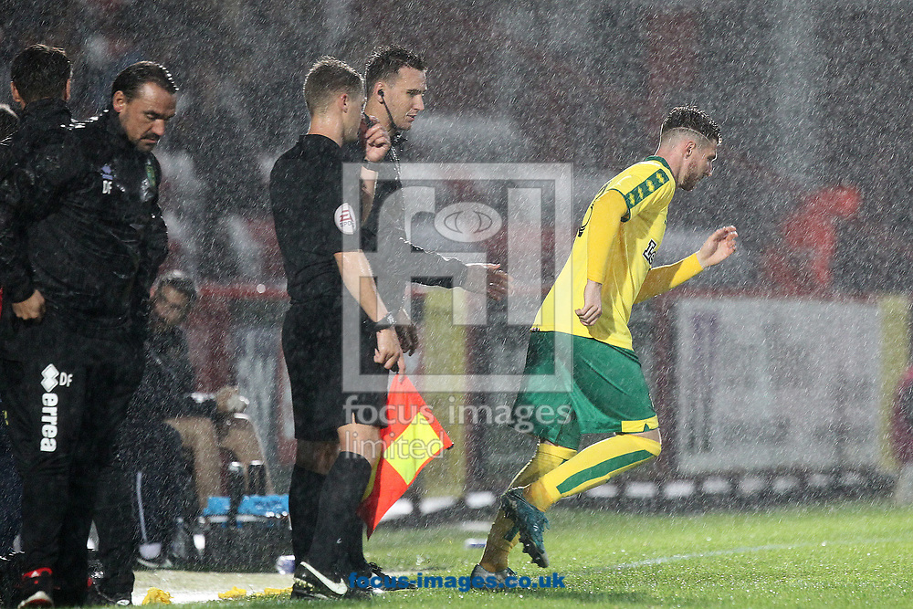 James Husband of Norwich comes on as sub during the Pre-season Friendly match at the Lamex Stadium, Stevenage<br /> Picture by Paul Chesterton/Focus Images Ltd +44 7904 640267<br /> 11/07/2017