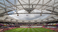 Athletics - 2017 IAAF London World Athletics Championships - Day One<br /> <br /> The London Stadium prepares to host the IAAF World Championships<br /> <br /> COLORSPORT/DANIEL BEARHAM