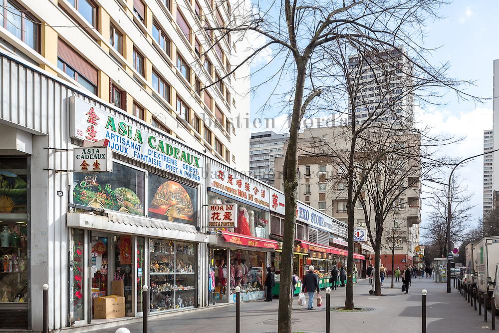 Supermarchés du quartier asiatique du 13 eme arrondissement // Supermarkets of Asian area of 13rd district