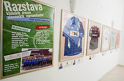Club Jerseys of of World Cup South Africa 2010 Slovenian National football team on October 8, 2012 in Hotel Primus, Ptuj, Slovenia. (Photo By Vid Ponikvar / Sportida)