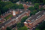 Aerial view of Jefferson Hall and Putnam Hall. © Ohio University