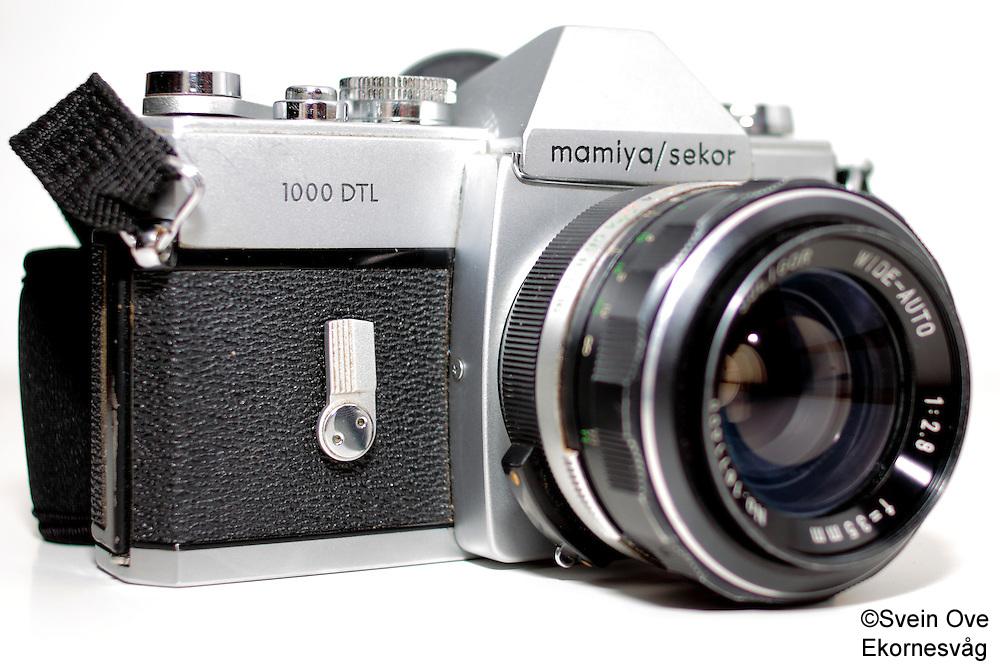 Et Mamiya/Sekor 1000 DTL analogt speilreflekskamera.<br /> Foto: Svein Ove Ekornesvåg