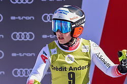 14.03.2019, Soldeu, AND, FIS Weltcup Ski Alpin, SuperG, Damen, im Bild Nicole Schmidhofer (AUT, erster Platz Abfahrts Weltcup und zweiter Platz Super G Weltcup) // first place Downhill World Cup and second place Super G Wold Cup Nicole Schmidhofer of Austria during the ladie's Super-G of FIS Ski Alpine World Cup finals. Soldeu, Andorra on 2019/03/14. EXPA Pictures © 2019, PhotoCredit: EXPA/ Erich Spiess