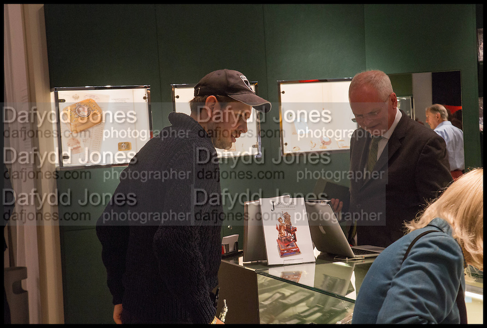 JAMES STUNT, Masterpiece London 2014 Preview. The Royal Hospital, Chelsea. London. 25 June 2014.