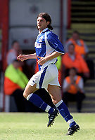 Alessandro Pistone (Everton) Exeter City v Everton, Pre-Season Friendly, 5/08/2000. Credit: Colorsport / Matthew Impey