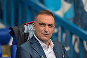 Sheffield Wednesday Manager Carlos Carvalhal during the EFL Sky Bet Championship match between Sheffield Wednesday and Sheffield Utd at Hillsborough, Sheffield, England on 24 September 2017. Photo by Adam Rivers.