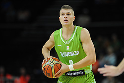 Edo Muric of Slovenia during friendly match between National Teams of Slovenia and New Zealand before World Championship Spain 2014 on August 16, 2014 in Kaunas, Lithuania. Photo by Vid Ponikvar / Sportida.com