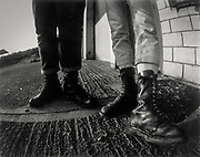 Doc Martens. High Wycombe, UK. 1980s.