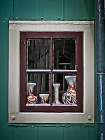 Still life in a window, Boek in Waterland.