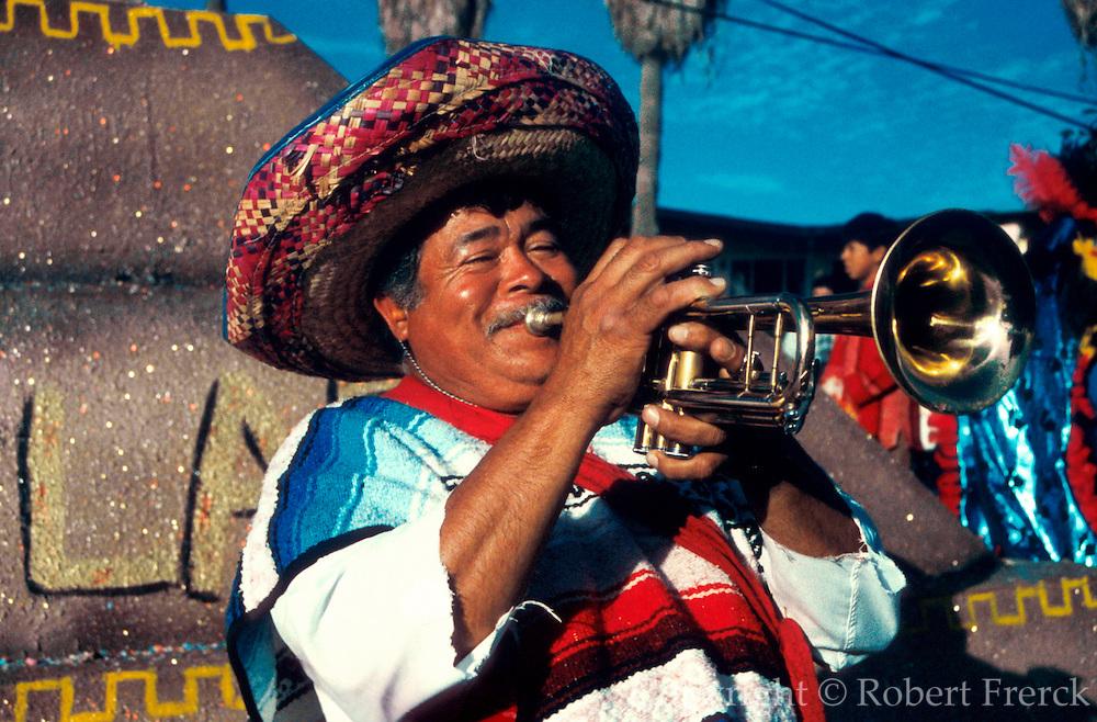 MEXICO, BAJA, FESTIVALS Carnival parade in Ensenada