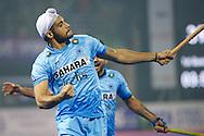 20 IND vs PAK : Gurjinder Singh celbrates